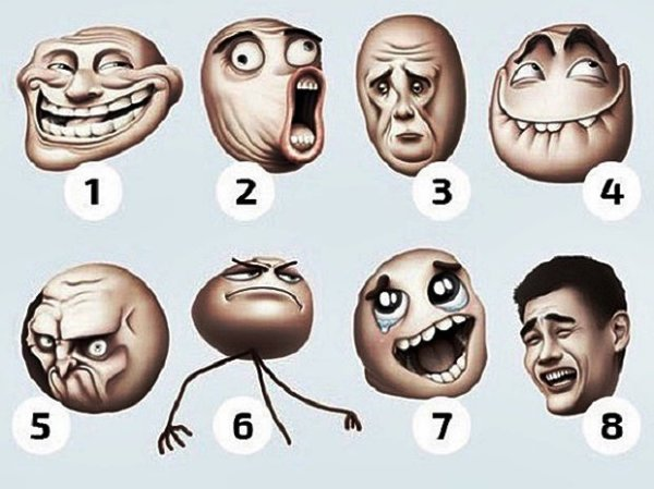 Válassz 1 arcot - Sok mindenről árulkodik a döntésed